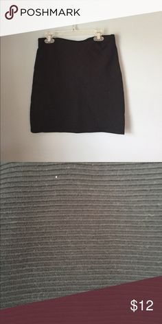 Fitting mini black mini skirt Perfect skirt for a night out, rimmed texture Forever 21 Skirts Mini