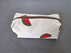 Watermelon pencil bagpencil casezipper pouchBack to by GoodChic