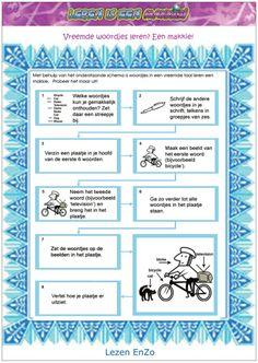 leertips voor woordjes. Meer #leertips op http://www.pinterest.com/ekkomikndrcch/leren-leren/ of volg gewoon alle borden van ekkomi via http://www.pinterest.com/ekkomikndrcch/
