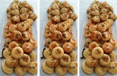 Appetizers For Party, Appetizer Recipes, Snack Recipes, Cooking Recipes, Snacks, Slovak Recipes, Czech Recipes, New Recipes, Savoury Baking