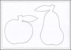 Jablko, hruška – čáry a barvy Techno, Cookie Cutters, Classroom, Apple, Templates, Fall, Art Education Resources, School, Class Room