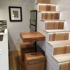 """When building a Tiny Home it's important to utilize every space, so we think outside the box with multi-functional designs that bring innovation and luxury to every part of your home! """"House of Zen"""" (7/7)"""
