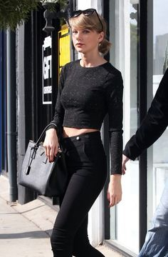 Singer Taylor Swift out and about in West Hollywood, California on January 15, 2016.