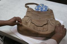 How to clean leather purses