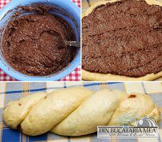 Din bucătăria mea: Cozonac cu nuca Cake, Romanian Recipes, Kuchen, Torte, Cookies, Cheeseburger Paradise Pie, Tart, Pastries