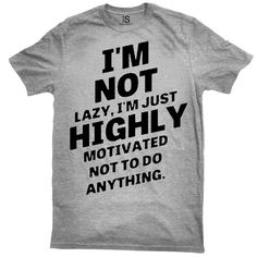 I'm Not Lazy Vintage Men's T Shirt