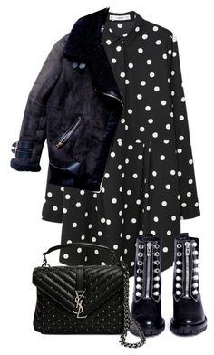 """""""Untitled #5285"""" by theeuropeancloset on Polyvore featuring MANGO, 3.1 Phillip Lim and Yves Saint Laurent"""
