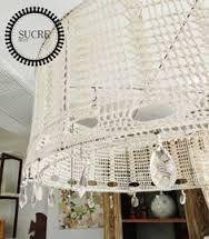 Resultado de imagen para lamparas tejidas al crochet