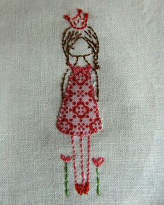 LiliPopo embroidered girl
