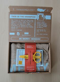 Krampus Defence Kit on Behance