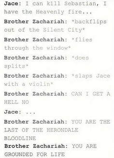 *slaps jace with a violin* I'm DEAD Book Tv, Book Nerd, The Book, Mortal Instruments Books, Shadowhunters The Mortal Instruments, Book Memes, Book Quotes, Nos4a2, Shadowhunters Series