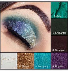 Finding Eye Shadow Tutorials To Revamp Your Look Jaclyn Hill Eyeshadow Palette, Morphe Eyeshadow, Jaclyn Hill Palette, Morphe Palette, Makeup Morphe, Eyeshadows, Makeup 101, Makeup Inspo, Makeup Inspiration