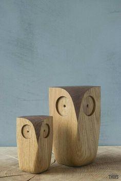 D39122017 Figuras maderas búhos