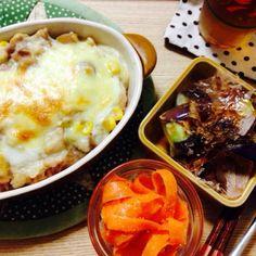 4月10日 副菜はさっぱり - 4件のもぐもぐ - チキンドリア by sakichan120