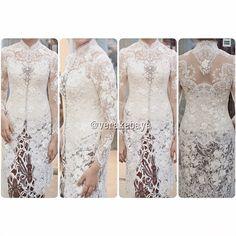 beautiful brokat for AKAD Kebaya Muslim, Kebaya Hijab, Kebaya Brokat, Dress Brokat, Kebaya Dress, Batik Kebaya, Batik Dress, Kebaya Modern Dress, Model Kebaya Modern