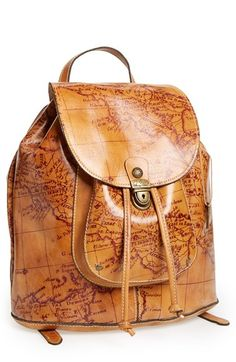 Patricia Nash 'Casape' Leather Backpack available at #Nordstrom - $248.00