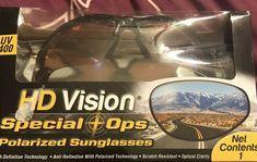 7812fb8abf New - Original HD Vision Special Ops Polarized Sunglasses HDVISSOD  754502038862  affilink  polarizedsunglasses  womensunglasses  mensunglasses  ...