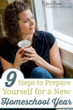 9 Steps to Prepare Yourself for a New Homeschool Year - Misty Leask