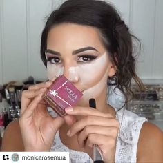 Just flawless bridal look!  #Repost @monicarosemua with @repostapp ・・・ TAG YOUR BESTIE❤️ ➖  BRIDAL MAKEUP  Makeup look i did for my wedding ❤️ Do you like it? Video on this eyelook coming soon  ➖ FACE➡️ @lagirlcosmetics green and orange correctors @lavaart cushion foundation @narsissist radiant creamy concealer  @benefitcosmetics high beam @anastasiabeverlyhills // @norvina contour cream kit  @farsalicare gold elixir  @lauramercier brightener powder benefitcosmetics Hoola bronzer ...