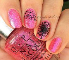 30 Stunning Pink And Black Nails #naildesignideaz #naildesign #pinkandblack #pinkandblacknaildesign ♥ If you enjoyed my pin, pls visit us at http://www.naildesignideaz.com ♥