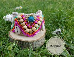 meyniiiEl örgüsü, işlemeli bileklik 🌼  #meynidesign #new #otantik #bracelet #style #handmadewithlove
