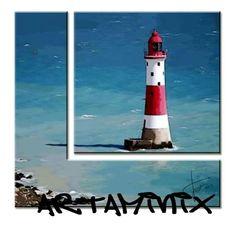 Faro #sea #mare #landscape #blue #red #mare #Holiday #azzurro #paesaggi