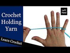 Left Handed Crochet for Beginners
