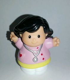 Fisher Price Little People Girl Pink Doctor Nurse Replacement Figure in Toys & Hobbies, Preschool Toys & Pretend Play, Fisher-Price | eBay