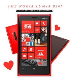 M O O R E A S E A L: VALENTINES GIVEAWAY! // A Nokia Lumia 920! #ATTseattle