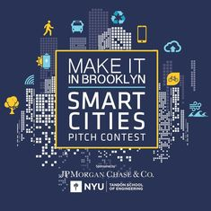 Calling all #SmartCities startups! Applications are now open for our next Make It in Brooklyn Smart Cities Pitch Contest. Apply by March 1st for your chance to pitch and win $5000. Link in bio. #MakeItinBK . . . #dobro #community #downtownbrooklyn #nyc #downtownbk #brooklyn #pitchcontest #makeitinbrooklyn #venturecapital #startup #winmoney #metrotech #nyu #gogreen #greentech #tech #recycle #transportation #greenenergy #smartenergy #smarttech