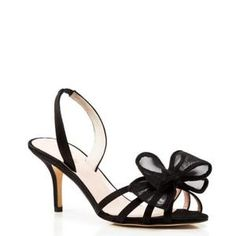 Kate Spade prim and proper bow slingback sandals $249.99