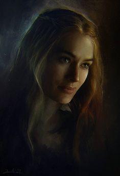 Skandallar kraliçesi Cersei Lannister.