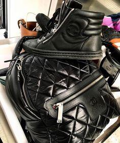 Chanel Designer Bagpack Trainers Footwear Dope