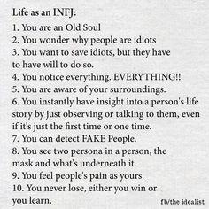 Life as an INFJ