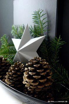 prosty sposób na złożenie dużej gwiazdy z papieru w wykonaniu Baba przemienia Materię