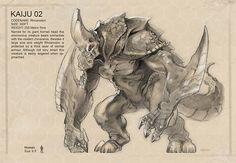 Kaiju Concepts by Nathan Rosario —-x—- More:...