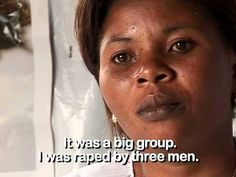 Counselling rape victims in Democratic Republic of the Congo