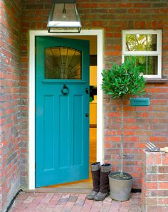 Whether you're trying to sell your house or simply make your home the envy of everyone on your cul-de-sac, trust us: A little goes a long way. Here, seven ways to refresh your front door (and beyond) without breaking the bank.
