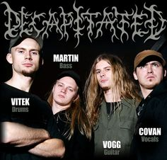 Decapitated - metal band