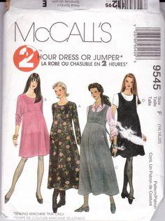 McCalls  Sewing Pattern #9545 Maternity