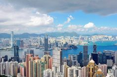 Loving Hong Kong's skyline! Paradise in the clouds. Photo B, Love Photography, San Francisco Skyline, Hong Kong, New York Skyline, Paradise, Asia, Clouds, Travel