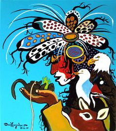 Posts about Canadian Native Art written by redkettle Native American Artwork, Native American Artists, American Indian Art, Canadian Artists, American Indians, Claudia Tremblay, Modern Indian Art, Indigenous Art, Aboriginal Art