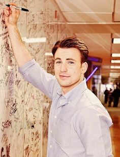 Chris Evans - the writings on the wall