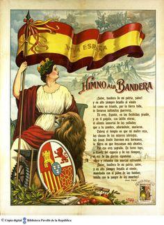 Viva España: himno a la bandera :: Cartells del Pavelló de la República (Universitat de Barcelona) Spain History, World History, Art History, Viking Quotes, Fab Fit Fun Box, Spanish Culture, Valencia Spain, Alternate History, Conquistador