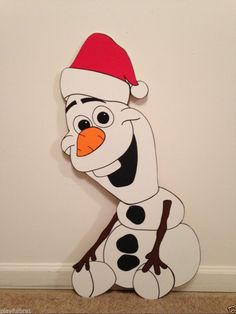 Olaf Frozen Christmas Yard Art Decoration 2