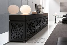 Paris Buffet with Four Doors and Four Drawers by Tonin Casa