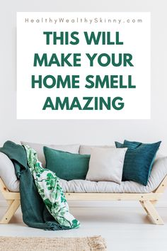 Making your home smell good makes you feel good, relaxed, and clean. This will help you feel your home with smells that heal, shape your mood, and bring you joy. Mist Diffuser, Aroma Diffuser, Diffuser Blends, Best Smelling Essential Oils, Organizing Tips, Organization, Young Living Diffuser, Green Led Lights, Organisation