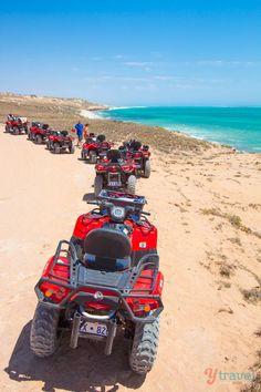 Go quad biking in Coral Bay, Western Australia
