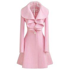 Womens Elegant Solid Color Lotus Edge Slim Fit Long Outerwear Coat Whatwears http://www.amazon.com/dp/B00QA9590G/ref=cm_sw_r_pi_dp_-CScwb0BG72HD