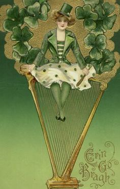 Erin go bragh from new york public library digital collections vintage st patrick erin go braghhappy m4hsunfo